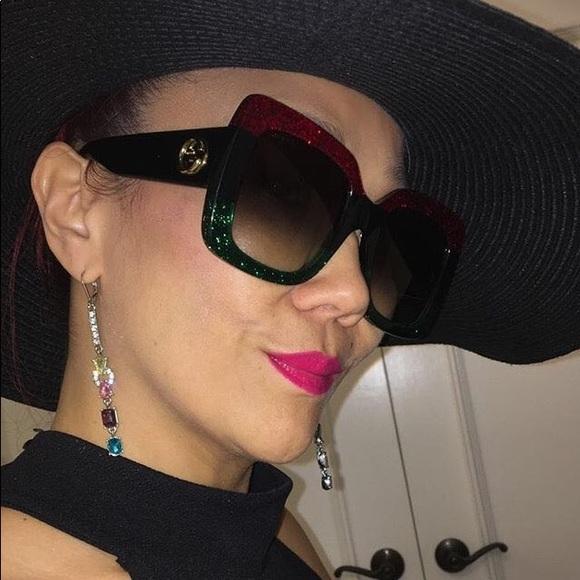 905397e6310 Gucci Accessories - Gucci Square-frame acetate sunglasses